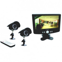 KIT VIDEOSORVEGLIANZA LCD  7