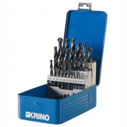 PUNTE HSS BOX METALLO Sr Pz 25 mm 1/13       KRINO