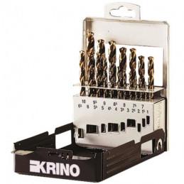 PUNTE HSS COBALTO BOX MET Sr Pz 19 mm 1/10   KRINO