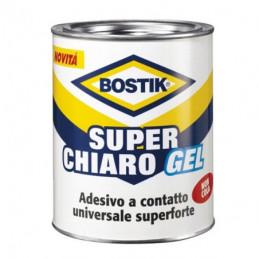ADESIVO SUPERCHIARO BARATTOLO ml 750 GEL    BOSTIK