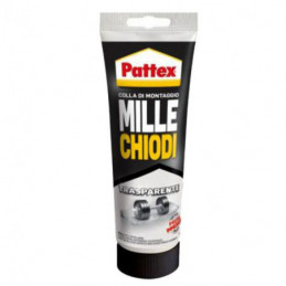 MILLECHIODI TRASPARENTE TUBETTO g 200       PATTEX
