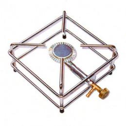 FORNELLONE GAS GPL 4 PIEDI CROMATO 22x22