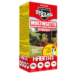 INSETTICIDA MULTINS. HABITAT        ml 250 ZIG-ZAG