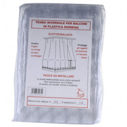 TENDA BALCONE PVC BIANCA              300x300 XTRA