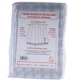TENDA BALCONE PVC BIANCA              350x150 XTRA