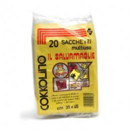 SACCO MAGLIE             Pz 20 cm 40x 60 COKKOLINO