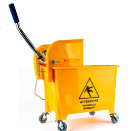 MOCIO CARRELLO INDUST. CLEAN WARNING LADYDOC 06507