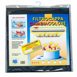 FILTRO CAPPE CARBONI CAMBIACOLORE  cm 50x80 FLORAL