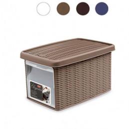 BOX ELEGANCE MULTI BIANCO   cm 19x29 h 16 STEFANPL