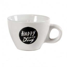 TAZZA CAFFE CERAMICA HAPPY DAY   Pz 6 BELLINTAVOLA