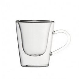 TAZZA CAFFE VETRO ESPRESSO  Pz 2 cc 120 L.BORMIOLI