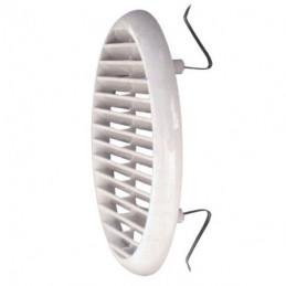 GRIGLIA PLASTICA TONDA RETE MOLLE mm 155  foro  80/125