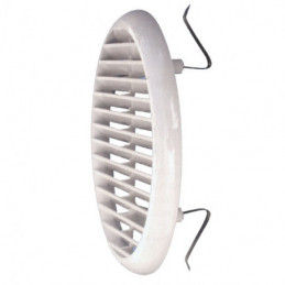 GRIGLIA PLASTICA TONDA RETE MOLLE mm 175  foro 125/160