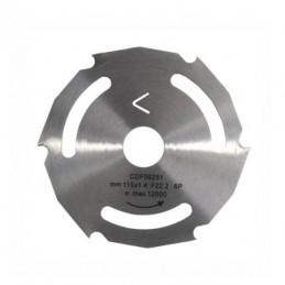 LAMA CIRCOLARE SUPERCUT 115 mm 115x1