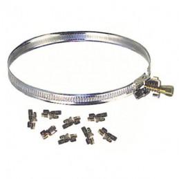 FASCETTA STRINGITUBO INOX KIT mm 9 m 3  QLTY 05680