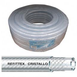 TUBO REFITTEX CRISTALLO mm 19x26 m 50         FITT