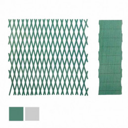 TRALICCIO PLASTICA VERDE  m 2x1